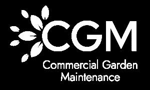 CGM logo final white